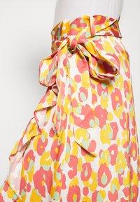 Fabienne Chapot - BOBO FRILL CATO SKIRT - Wrap skirt - pink - 4