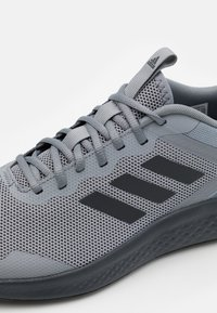 adidas Performance - FLUIDSTREET - Sports shoes - grey/carbon/core black - 5