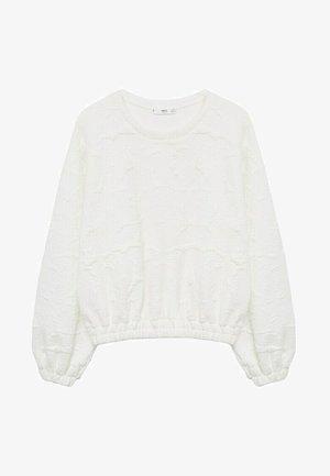 PETER - Sweatshirt - blanc
