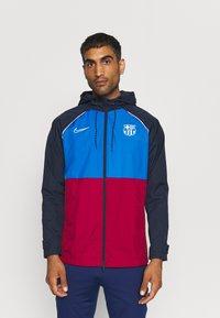 Nike Performance - FC BARCELONA  - Club wear - soar/noble red/obsidian/pale ivory - 0