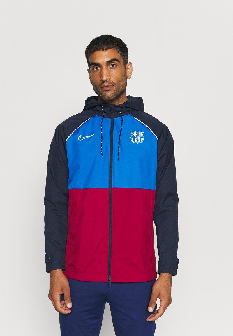 Nike Performance - FC BARCELONA  - Club wear - soar/noble red/obsidian/pale ivory