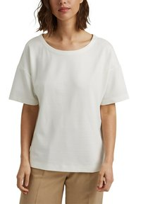 Esprit Collection - Basic T-shirt - off white - 5