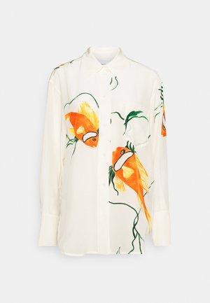 OVERSIZED  - Skjorte - orange/cream