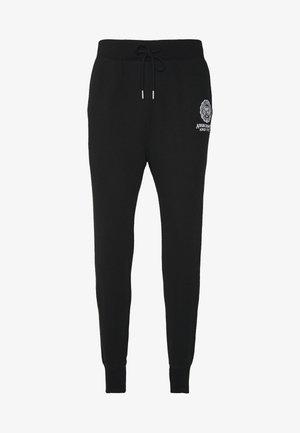 CREST TECH LOGO - Pantalon de survêtement - black
