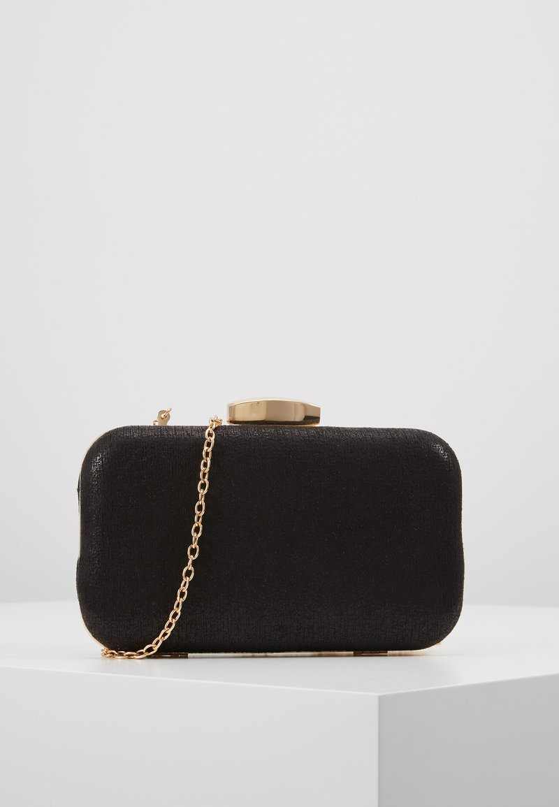 Dorothy Perkins - ROUNDED BOX  - Clutch - black