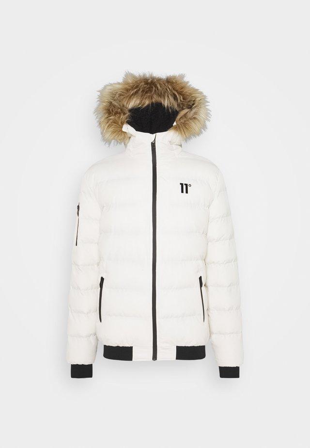 MISSILE HEAVY BOMBER JACKET - Winter jacket - tofu