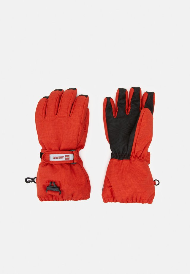 ATLIN GLOVES UNISEX - Sormikkaat - red
