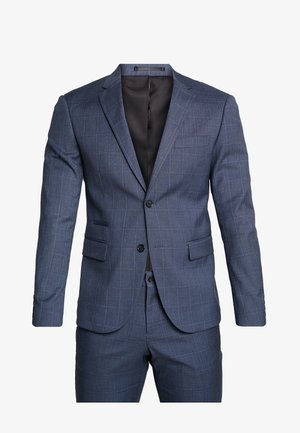 CHECKED SUIT - Dress - blue