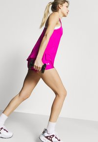 Under Armour - KNOCKOUT TANK - Camiseta de deporte - meteor pink - 3