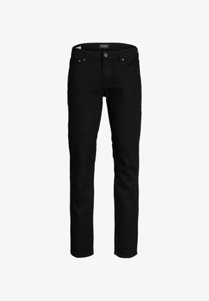 CLARK  - Vaqueros rectos - black denim