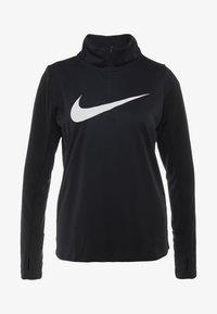 Nike Performance - MIDLAYER RUN - Camiseta de deporte - black/white - 4