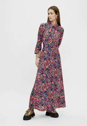 BLUSENKLEID YASALIRA - Shirt dress - navy peony