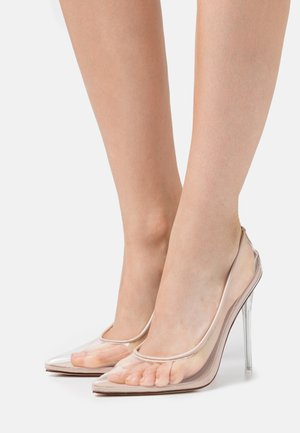 EPOXY - High heels - clear/nude