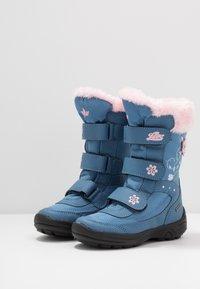 LICO - MARY - Zimní obuv - blau/rosa - 3