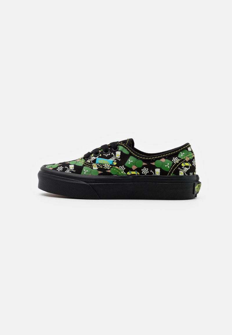 Vans - THE SIMPSONS AUTHENTIC - Sneakersy niskie - black/multicolor