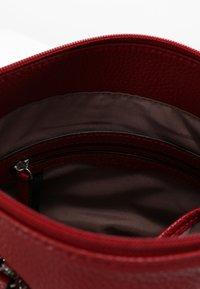 L.CREDI - UMHÄNGETASCHE BUDAPEST - Across body bag - red - 3