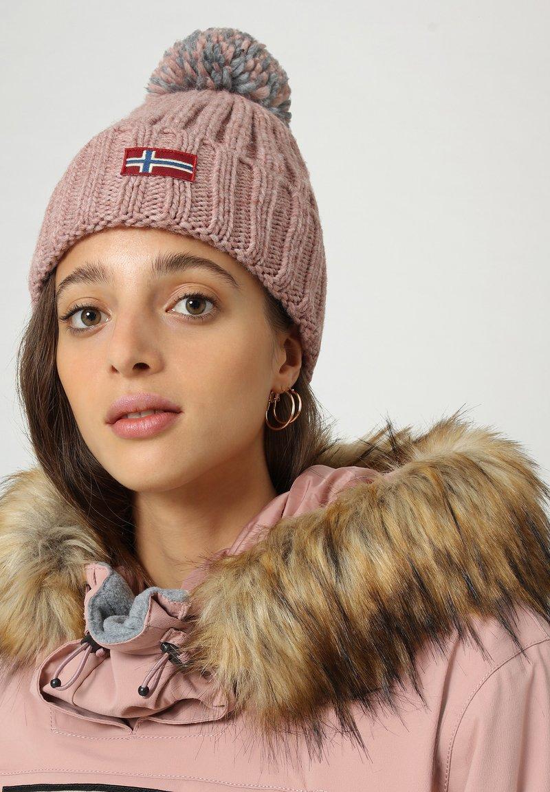 Napapijri - SEMIURY - Beanie - pink woodrose