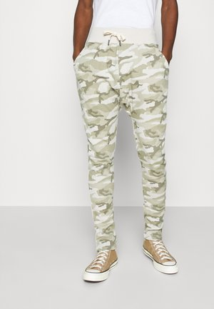 PAUL COMBAT - Tracksuit bottoms - desert beige