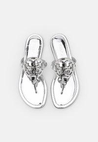 Tory Burch - MILLER - T-bar sandals - silver - 4