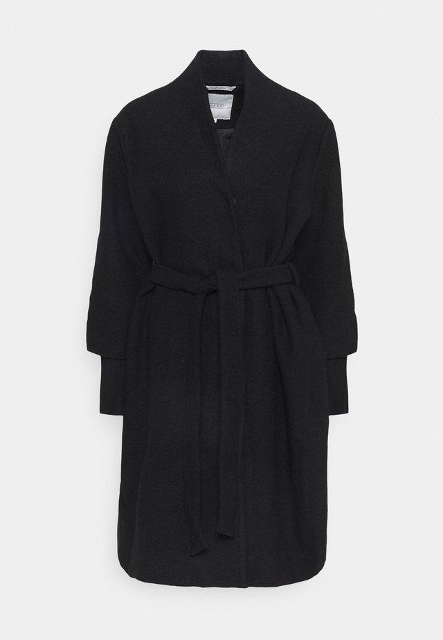 TERRA - Manteau classique - black