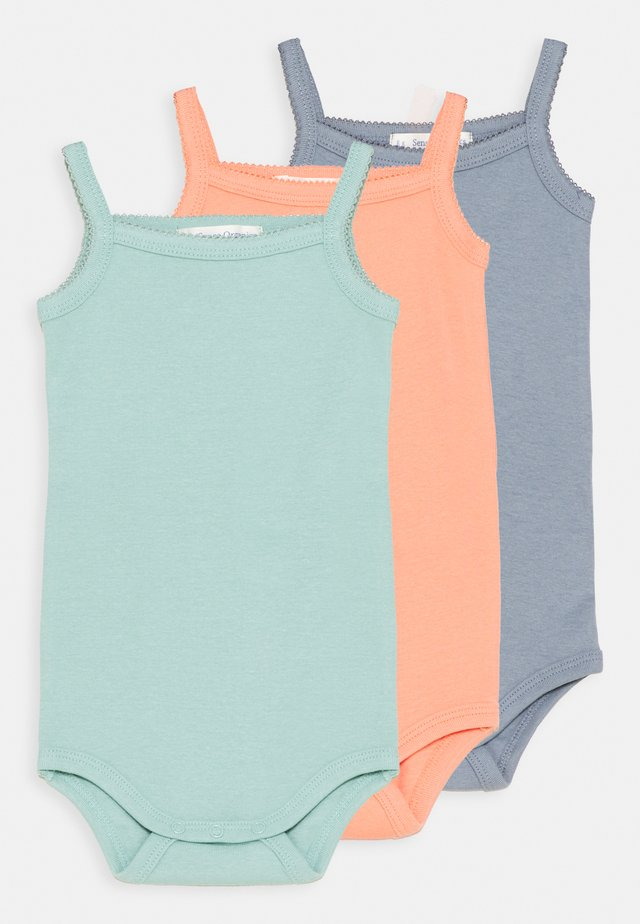 YARA 3 PACK  - Body - dusty blue/light tea/coral