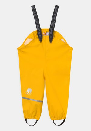RAINWEAR PANTS SOLID UNISEX - Regnbyxor - yellow