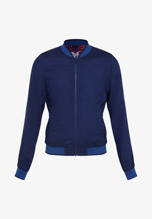 REVERIBLE - Giubbotto Bomber - blue
