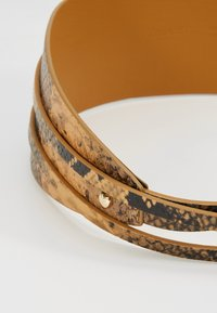 TWINSET - PYTHON SASH BELT - Waist belt - pitone brandy - 5
