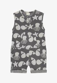 Turtledove - SEA FRIENDS SHORTIE TANK BABY - Overal - grey/white - 2