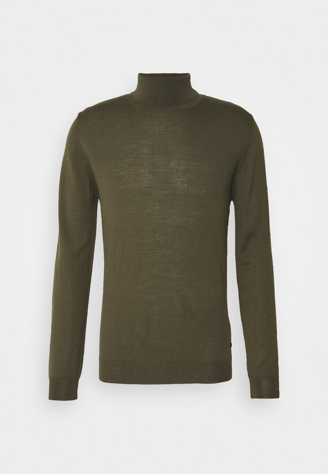 PARCUSMAN - Strickpullover - olive night