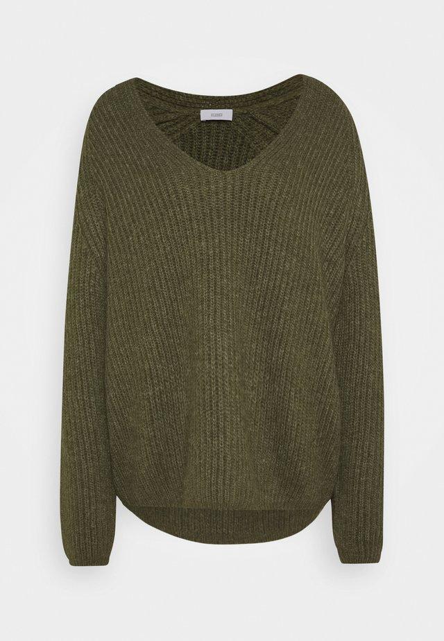 WOMENS - Pullover - lentil