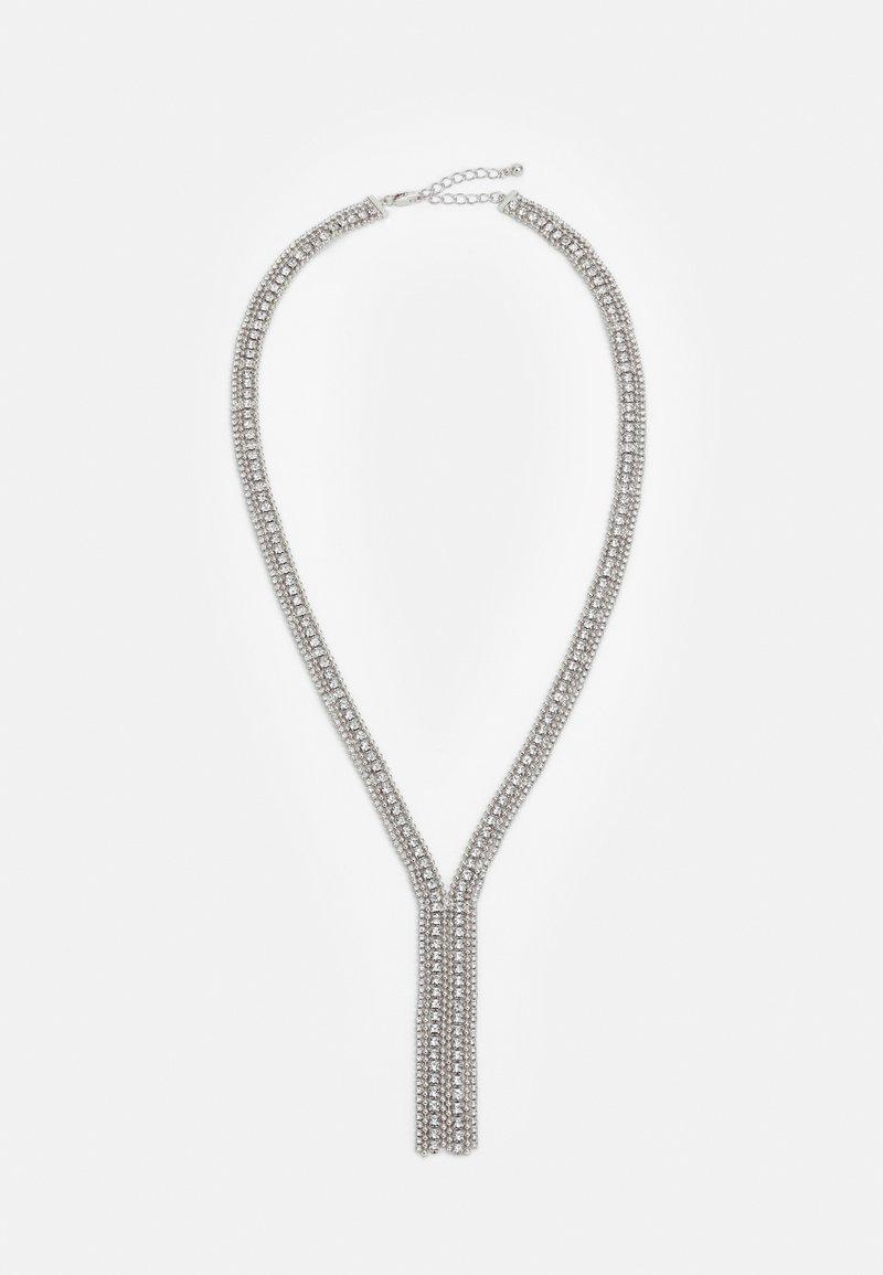 Pieces - PCDANEEN NECKLACE - Necklace - silver-coloured