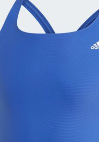 adidas Performance - SOLID FITNESS SWIMSUIT - Swimsuit - blue - 3