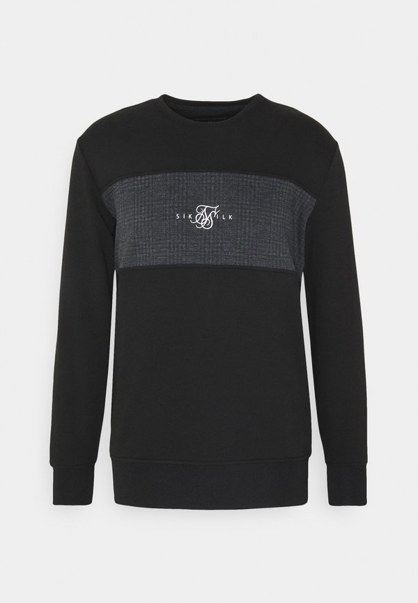 SIKSILK CREW SWEATER - Bluza - grey/szary Odzież Męska JLBJ
