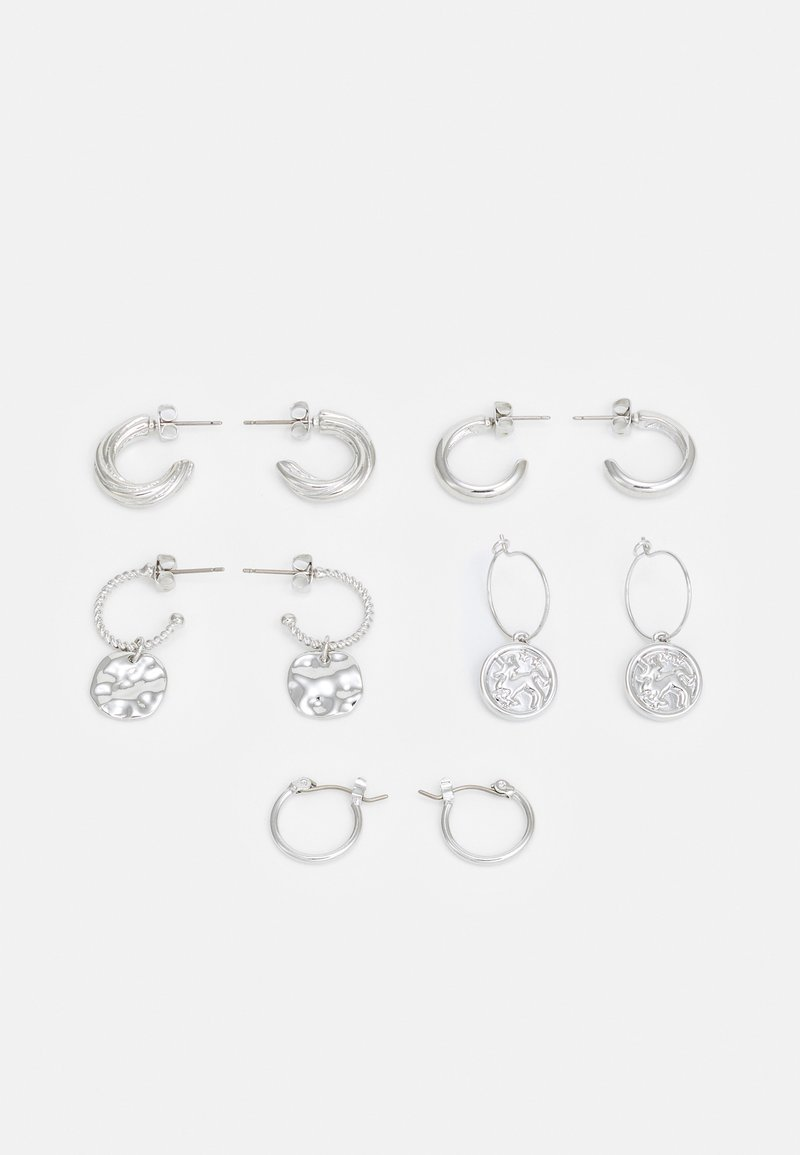 Fire & Glory - EARRINGS 5 PACK - Earrings - silver-coloured