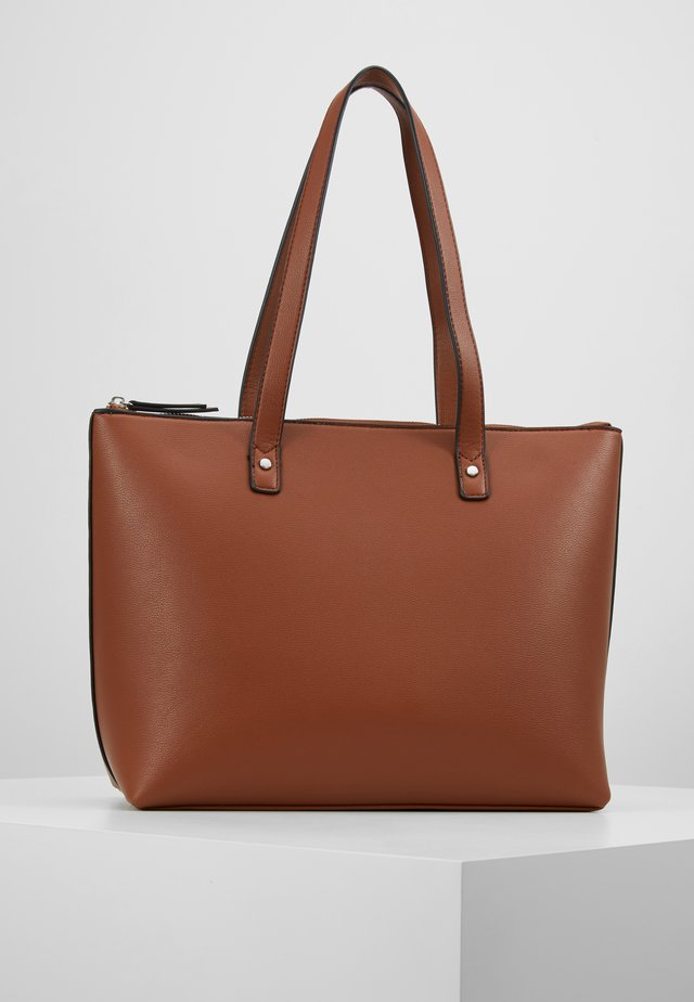 Bolso shopping - cognac