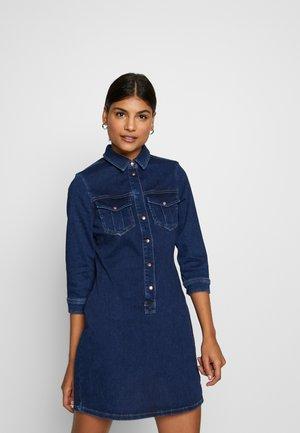 Denim dress - dark blue