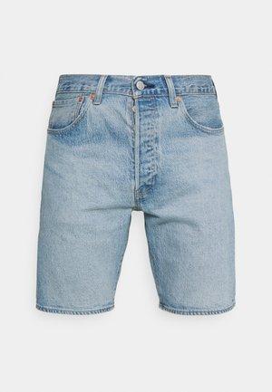 501® HEMMED - Jeansshorts - light-blue denim