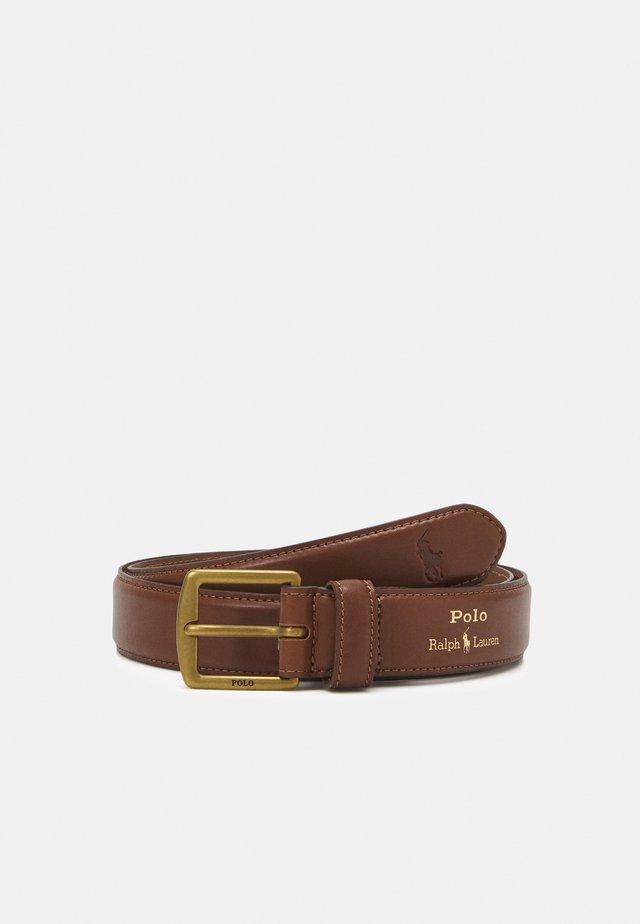 SMOOTH - Formální pásek - brown