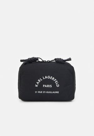 RUE GUILLAUME WASHBAG UNISEX - Wash bag - black