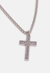 Burton Menswear London - CROSS NECKLACE - Necklace - silver-coloured - 2