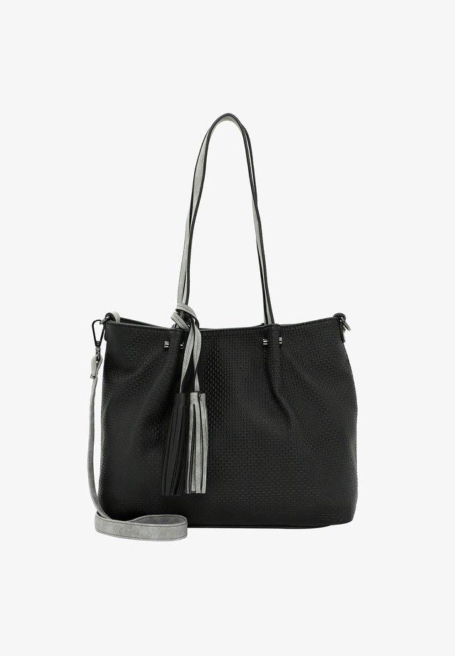 SURPRISE - Shopping bag - black grey