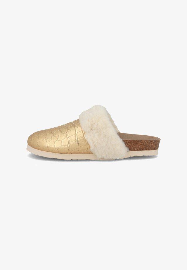 Pantofole - gold