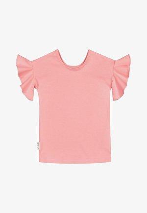 Basic T-shirt - pastel coral