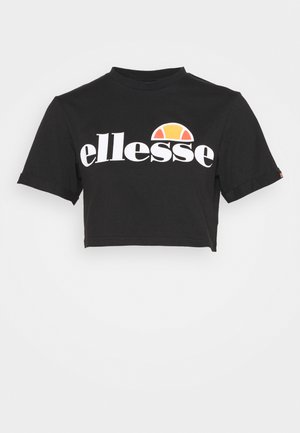 ALBERTA - Camiseta estampada - black