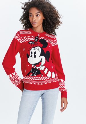 MINNIE MOUSE  - Jumper - red