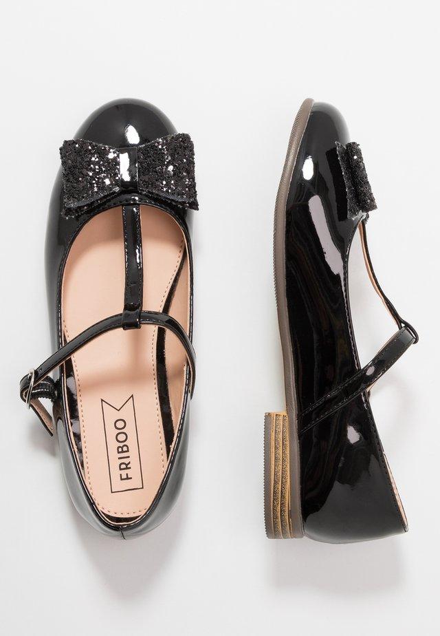 Ballerinasko m/ rem - black