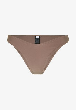 V SHAPE FRONT BOTTOM - Bikiniunderdel - taupe