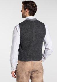 Spieth & Wensky - KNALLER - Waistcoat - dark grey - 1