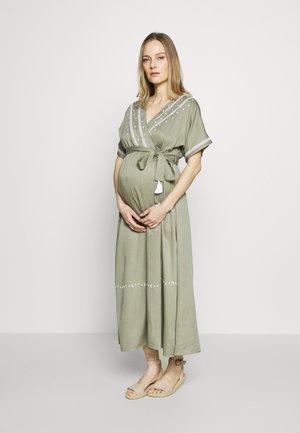 THIRD EYE - Długa sukienka - khaki